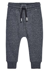 Next - NATURAL/GREY/BLUE 3 PACK TEXTURED JOGGERS (3MTHS-7YRS) - Tracksuit bottoms - blue - 3