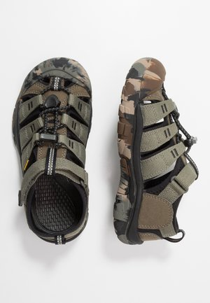 NEWPORT H2 - Walking sandals - dusty olive
