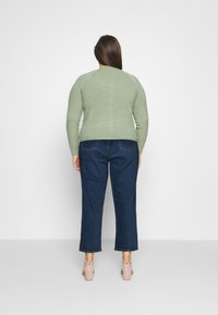 Levi's® Plus - 501 CROP - Slim fit jeans - charleston outlasted - 2