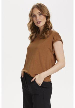 ADELIASZ - Basic T-shirt - sierra