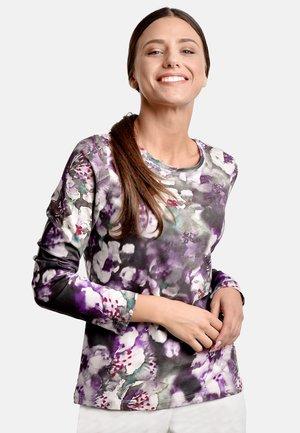 Långärmad tröja - lilac-green