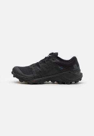 WILDCROSS GORE TEX - Trail running shoes - black