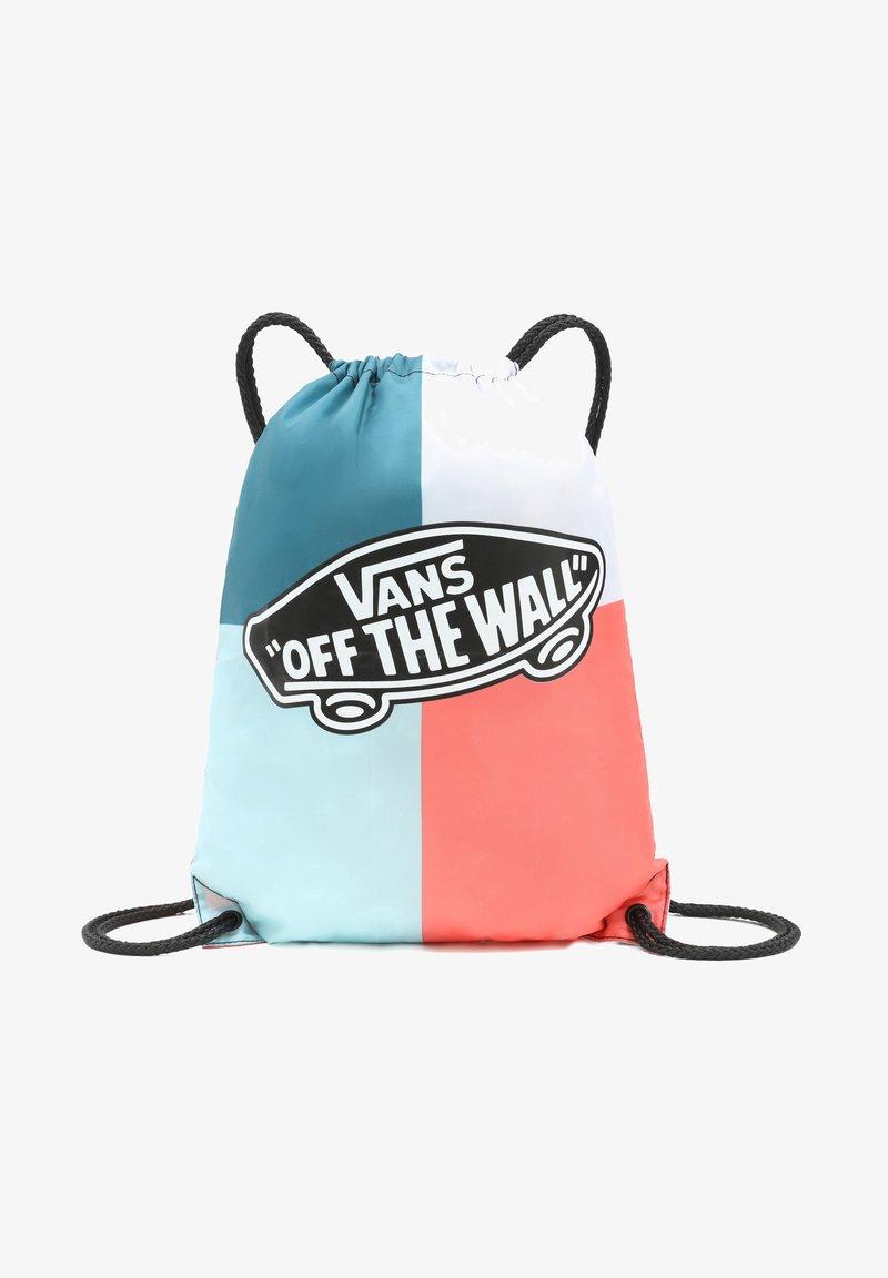 Vans - WM BENCHED BAG - Bolsa de deporte - white/plume/black