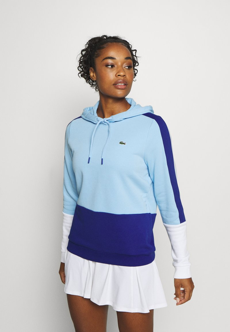 Lacoste Sport - SF2132 - Hoodie - overview/cosmic/white