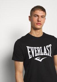 Everlast - LOUIS - Triko spotiskem - black - 3