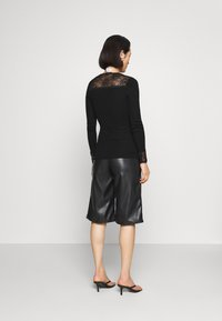 Rosemunde - Long sleeved top - black - 2