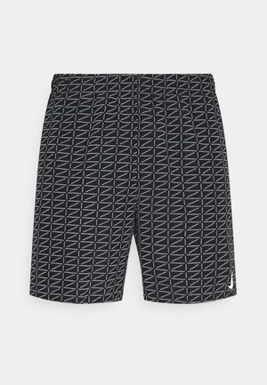 RUN - Short de sport - black/white