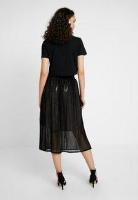Le Temps Des Cerises - ANGELA - A-line skirt - black - 2