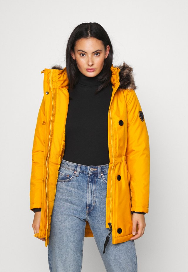 ONLIRIS - Winter coat - golden yellow
