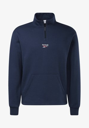 CLASSIC TEAMSPORTS CASUAL PULLOVER - Sweatshirt - blue