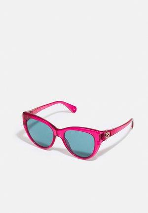 Sunglasses - red/blue