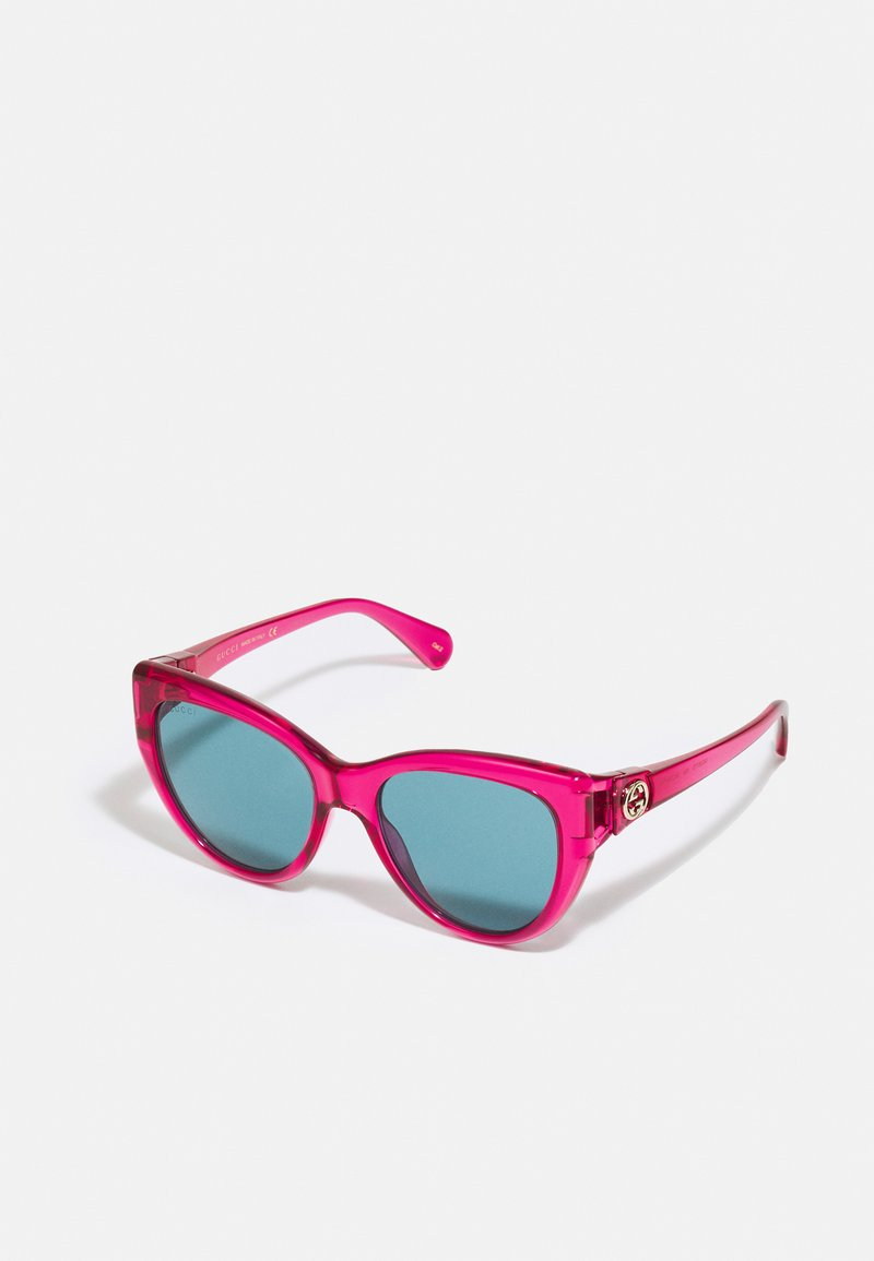 Gucci - Sunglasses - red/blue