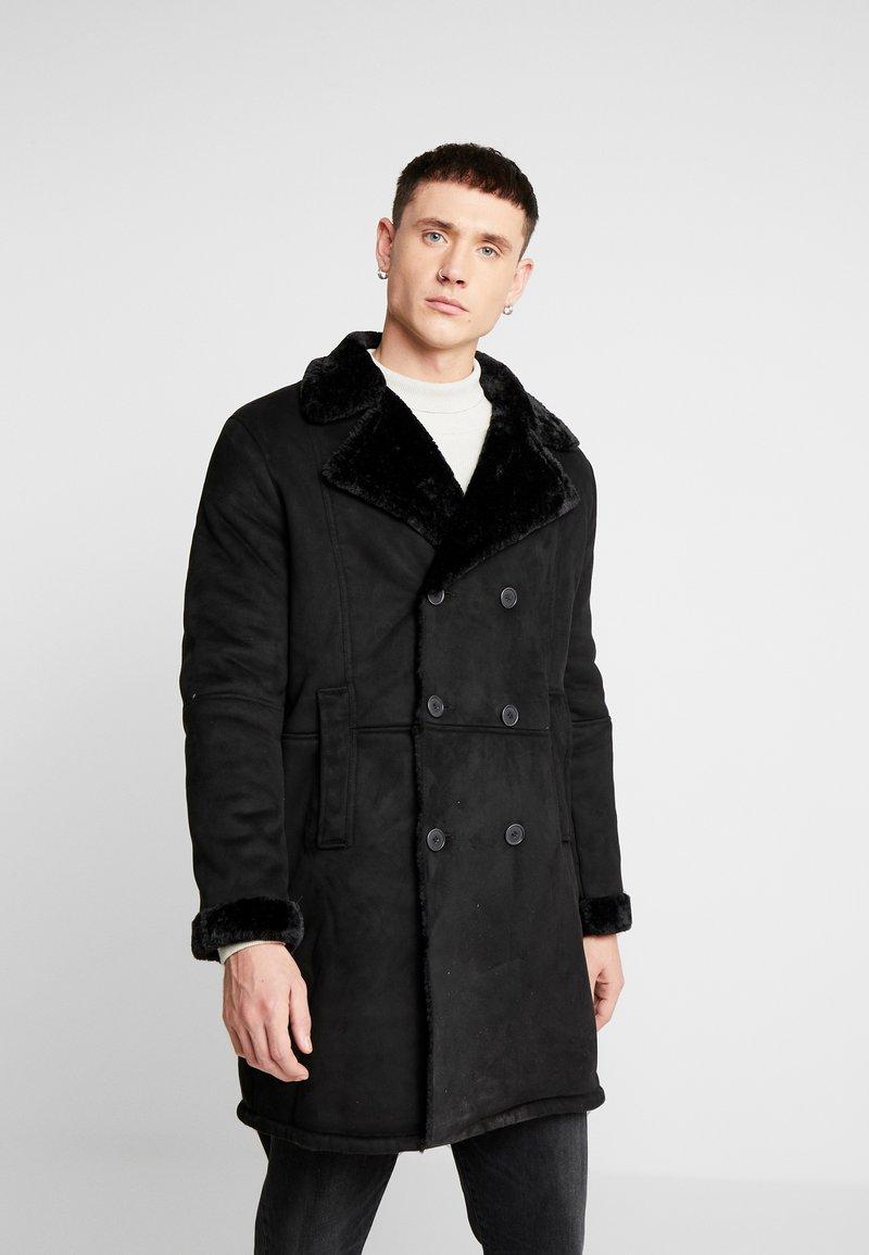 Topman - REPUBLIC - Cappotto corto - black