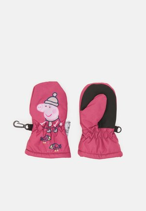 NMFPEPPAPIG LINE UNISEX - Mittens - deco rose