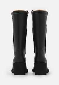 MM6 Maison Margiela - STIVALE - Cowboy/Biker boots - black - 3