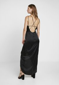 Nly by Nelly - STRAPPY DETAIL GOWN - Robe de cocktail - black - 3