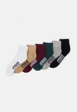 HIGH SNEAKER SOCKS 6 PACK UNISEX - Chaussettes - wintercolor