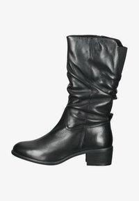 SPM Shoes & Boots - Laarzen - black leather - 0