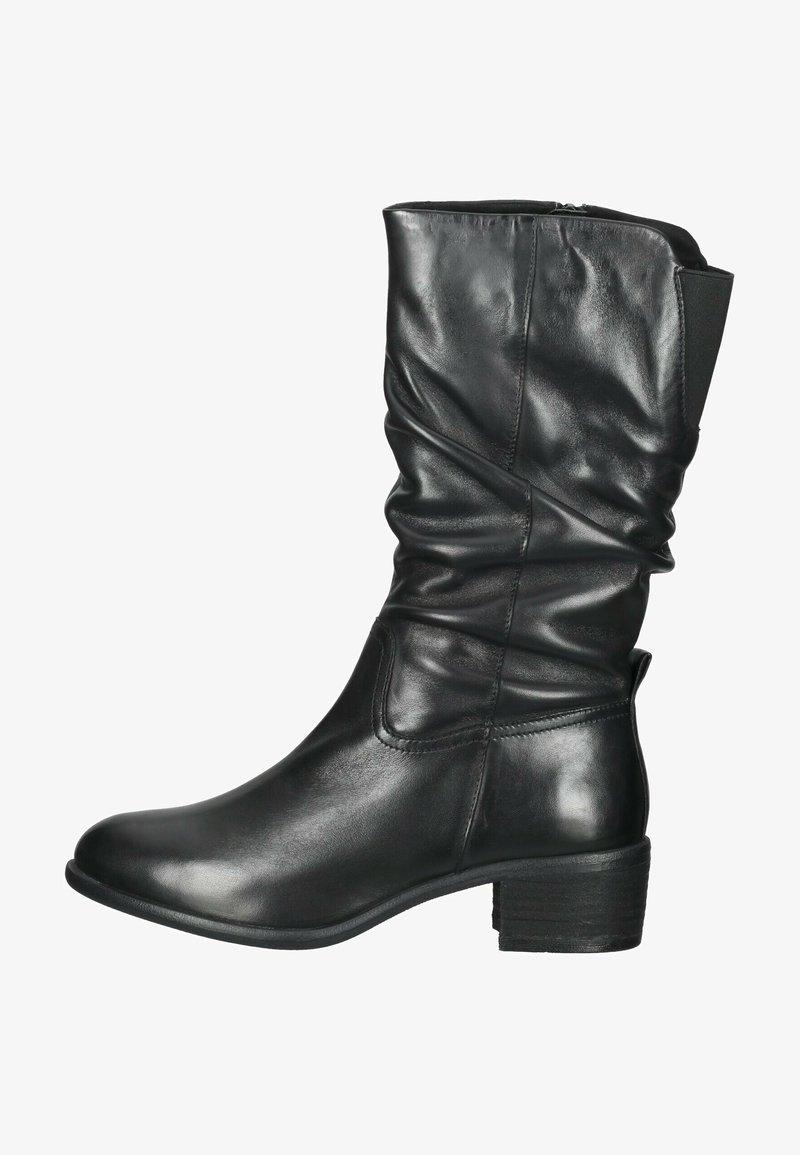 SPM Shoes & Boots - Laarzen - black leather