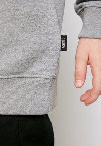 Vans - Sweater - concrete heather/black - 5
