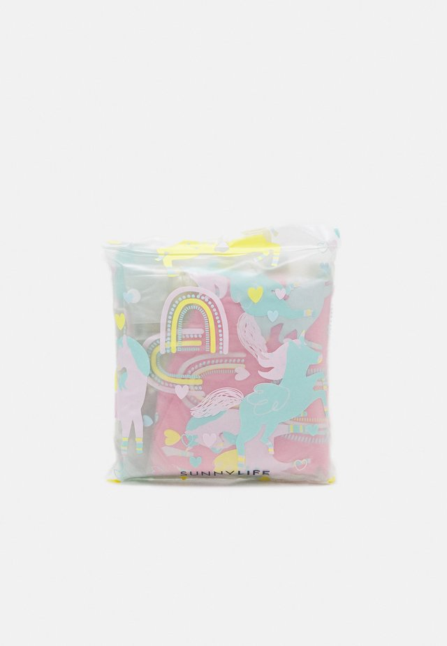 UNICORN KIDS PONCHO - Vodotěsná bunda - pink