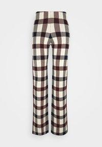 Victoria Victoria Beckham - STRAIGHT TROUSER - Spodnie materiałowe - multi - 6