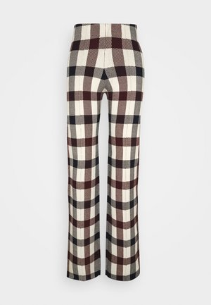STRAIGHT TROUSER - Pantaloni - multi