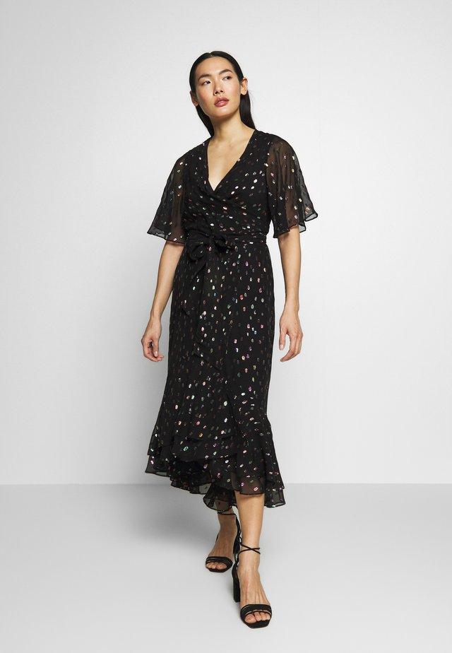 BERDINA - Denní šaty - black/multi