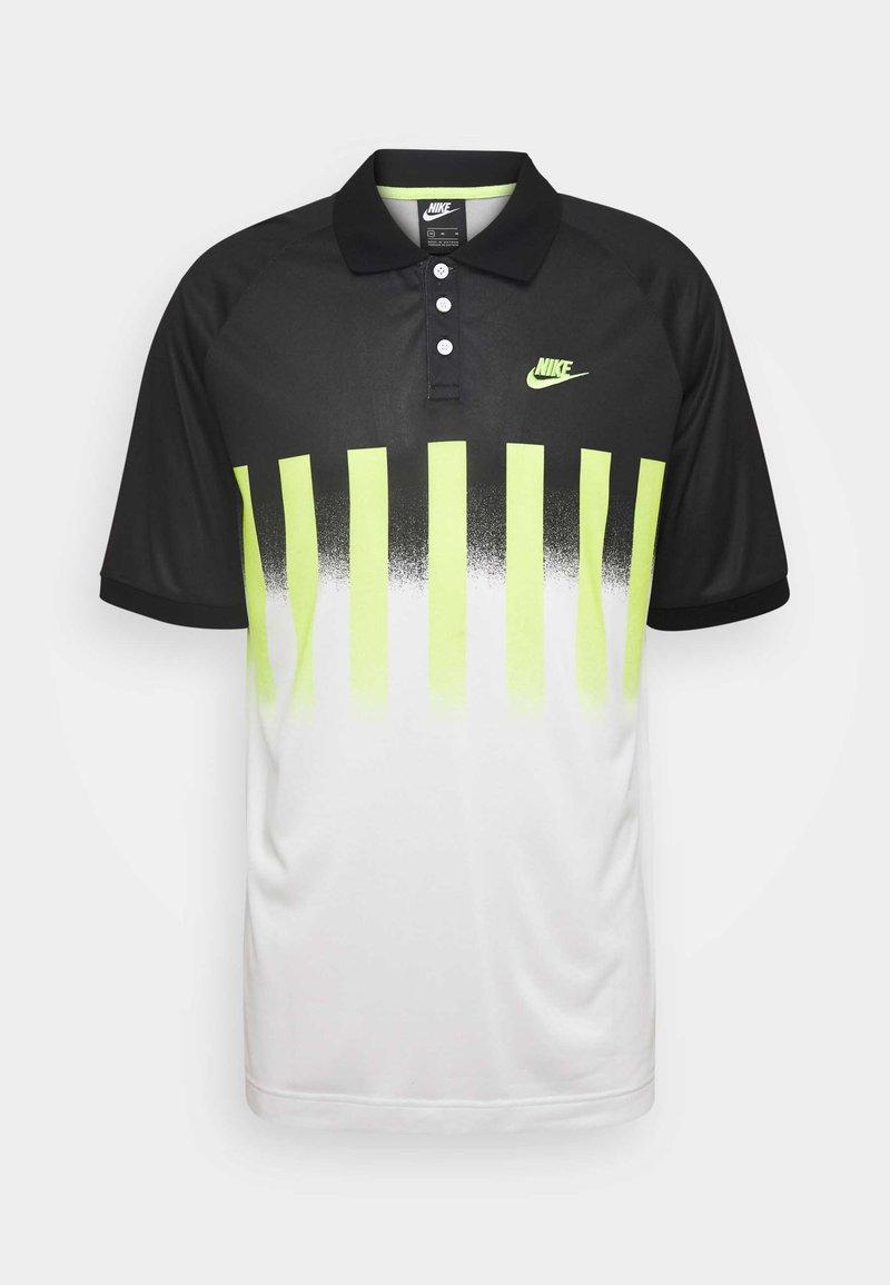 Nike Sportswear - RE ISSUE - Polo shirt - volt/black