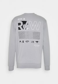 G-Star - BACK PRINT LOGO R SW L\S - Sweater - correct grey - 1