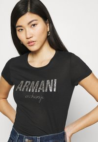 Armani Exchange - Print T-shirt - black - 4