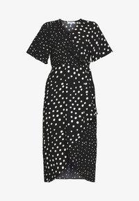 MONO SPOT MIDI DRESS - Day dress - black