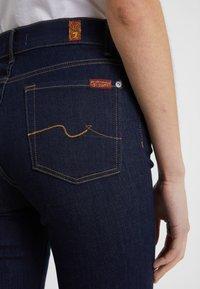 7 for all mankind - BAIR CLEAN RINSE - Straight leg jeans - dark-blue denim - 4