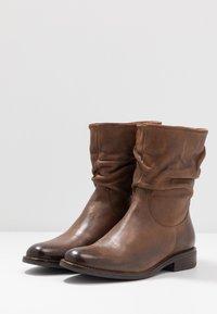 Anna Field - LEATHER CLASSIC ANKLE BOOTS - Kotníkové boty - brown - 4