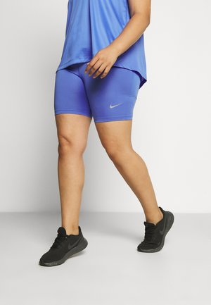 FAST SHORT PLUS - Tights - sapphire/reflective silver