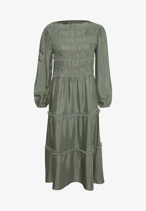 Robe longue - agave green