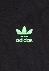 adidas Originals - SWAROVSKI HOODIE UNISEX - Luvtröja - black/shock lime - 8