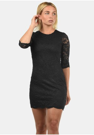 EWELINA - Shift dress - black
