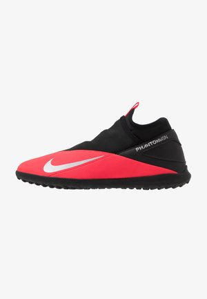 PHANTOM VISION 2 CLUB DF TF - Astro turf trainers - laser crimson/metallic silver/black