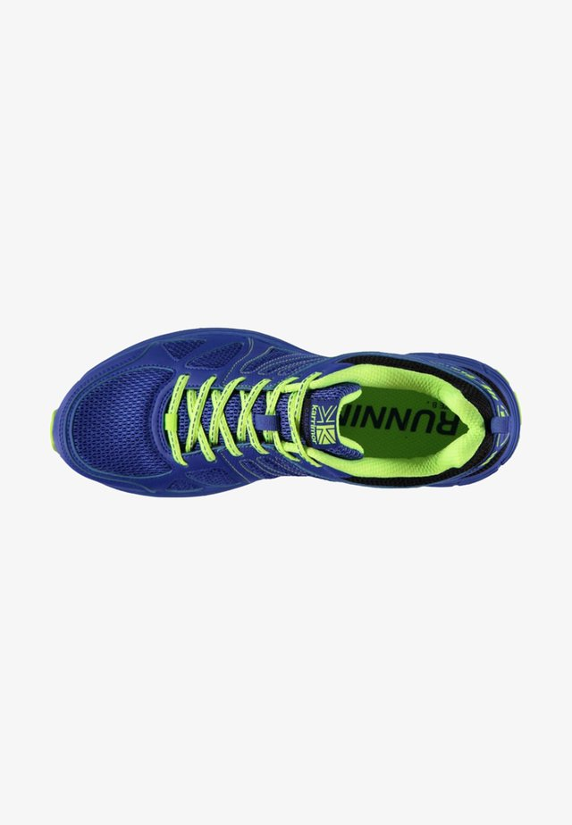 Chaussures de running - blue/lime