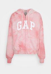 GAP - ABBREVIATED - Zip-up sweatshirt - pink - 0