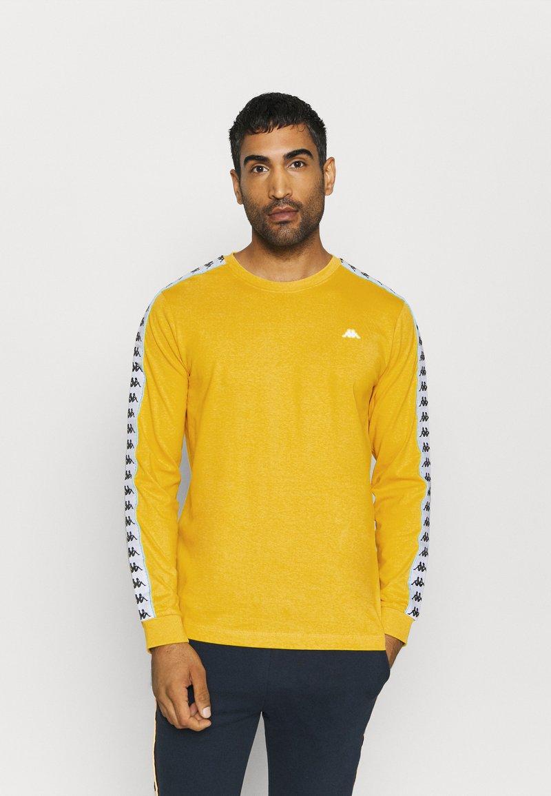 Kappa - HAIMO LONGSLEEVE - Pitkähihainen paita - ceylon yellow