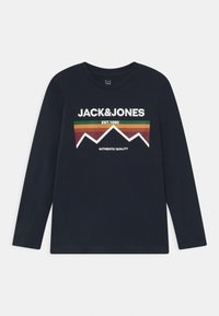 Jack & Jones Junior - JORDANIELSON CREW NECK 2 PACK - Long sleeved top - navy blazer/white - 2