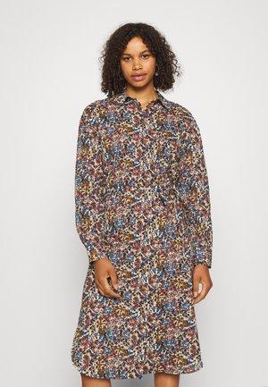 OBJPENELOPE - Shirt dress - mazarine blue