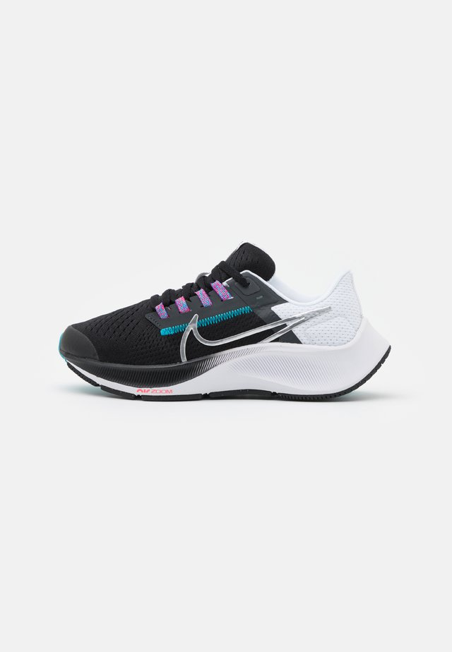AIR ZOOM PEGASUS 38 UNISEX - Competition running shoes - particle grey/white/midnight navy