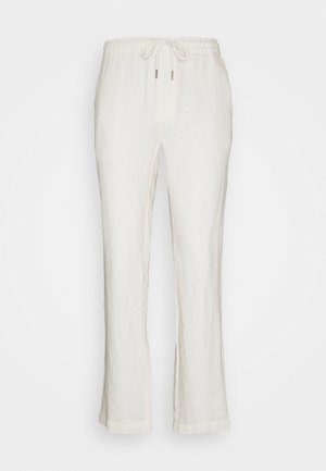 HOUSE TROUSERS - Stoffhose - white sand