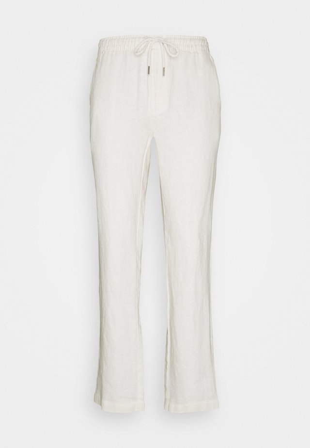 HOUSE TROUSERS - Broek - white sand