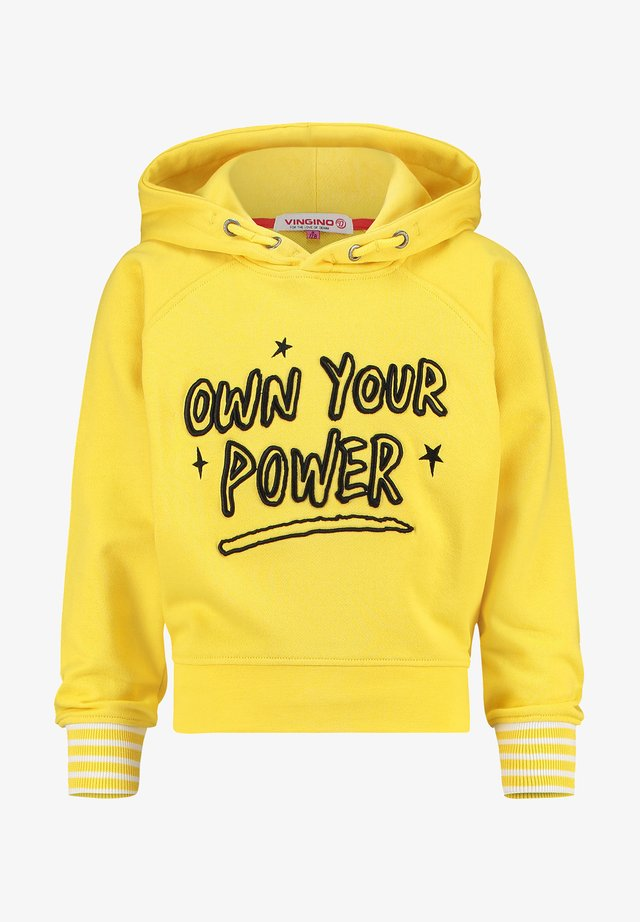 NISA - Sweatshirt - super yellow