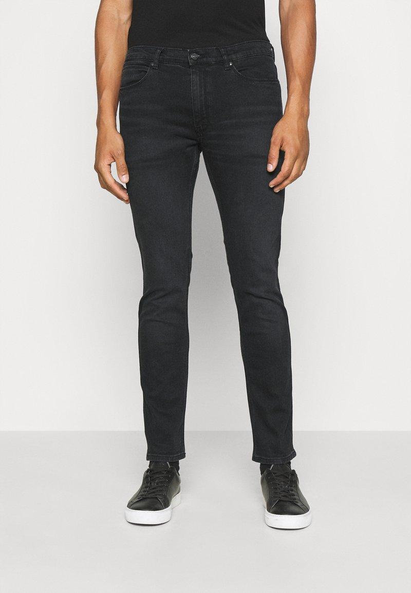 HUGO - Jeans slim fit - charcoal