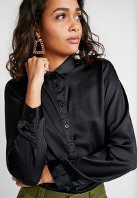 JDY - JDYFIFI  - Button-down blouse - black - 5